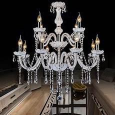 kronleuchter schlafzimmer eleganter kronleuchter kristall kerzen design in wei 223 f 252 r