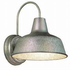 portfolio ellicott galvanized outdoor wall light size 10 75in 13 12in attic outdoor