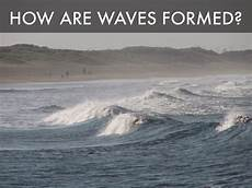 what makes waves formed by devan