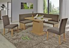 Coin Repas Avec Banquette D Angle Charleen Beige Marron