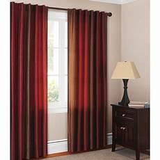 canopy ombre faux silk drapery panel walmart