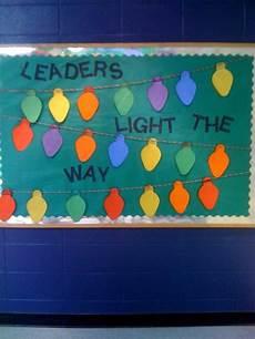 leaders light the way christmas bulletin board leadership bulletin boards christmas
