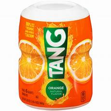 tang orange drink mix 20 oz canister food grocery