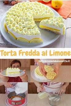 torta con crema al limone di benedetta parodi torta fredda al limone dolci ricette dolci e dolci freddi