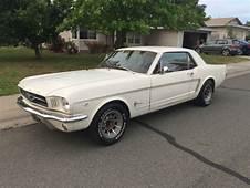 1964 1/2 1965 Mustang 260 V8 3 Speed Manual All Original