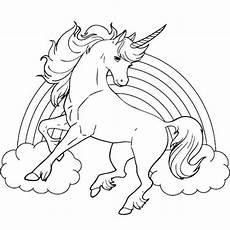 unicorn malvorlagen kostenlos regenbogen ausmalbild ausmalbilder einhorn zum ausmalen