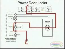 Wire Diagram Power Door Lock by Power Door Locks Wiring Diagram