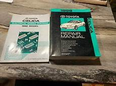 best car repair manuals 1998 toyota celica on board diagnostic system clean 1998 toyota celica shop service repair manual and ewd ebay