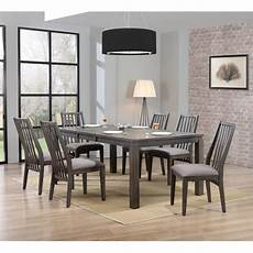 contemporary gray 5 piece dining hartford rc willey furniture store