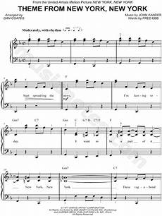 frank sinatra quot theme from new york new york quot sheet music easy piano in f major download