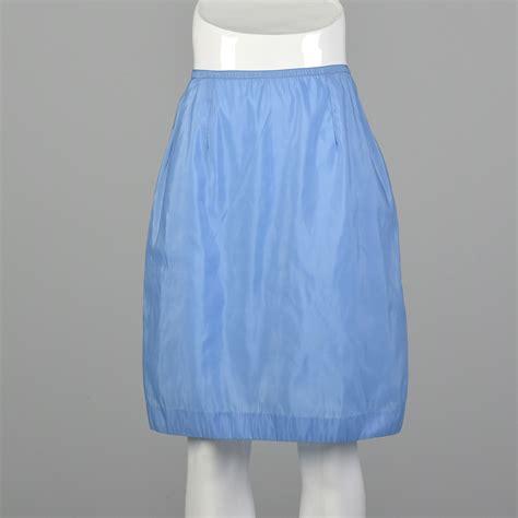 Blue Half Slip