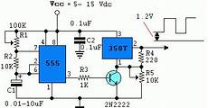 Build A Power Pulse Using By Lm350 And Ne555 Circuit