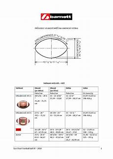 Jolly Ball Size Chart Size Chart Football Ball Cz By Barnett Issuu