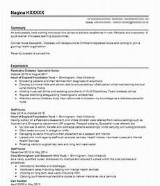 newly qualified staff nurse cv template nursing cv sles