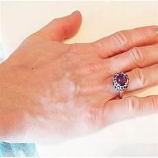 pomellato tabou pomellato tabou ring purple amethyst gold silver italian
