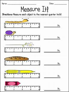 measurement nearest inch half inch quarter inch and eighth inch measurement fourth grade