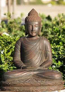 sold meditating buddha statue 24 quot 67ls85 hindu