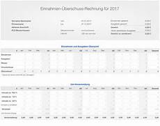numbers vorlage einnahmen 220 berschuss rechnung e 220 r 2017