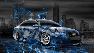 Audi S4 Tuning Anime Aerography City Car 2015  El Tony