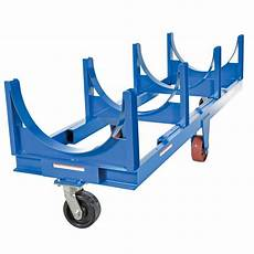 Cart Pipe by Vestil Dcc 28120 10 Steel Heavy Duty Cradle Cart With