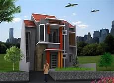 Desain Rumah Minimalis Modern 2 Lantai Type 60 120 36