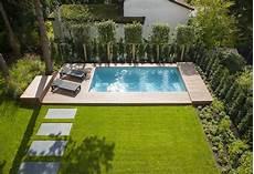 pool in kleinem garten swimming pool or normal