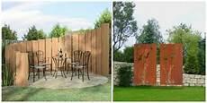 barriere jardin pas cher deux id 233 es de brise vue bois cloture jardin jardins et