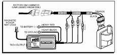 96 gmc vortec engine wiring diagram msd 9995 streetfire ignition kit 96 98 gm truck 5 7 vortec distributor box wires ebay
