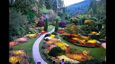 buchart botanical garden bc youtube