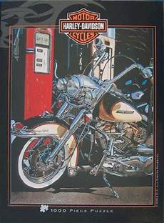 Harley Davidson Puzzles 1000 Pieces by Harley Davidson Puzzles Gift For Harley Davidson