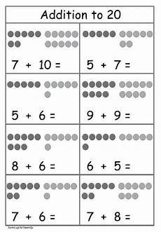 addition worksheets for kindergarten 1 20 9271 addition to 20 worksheet circles free worksheet math addition worksheets kindergarten