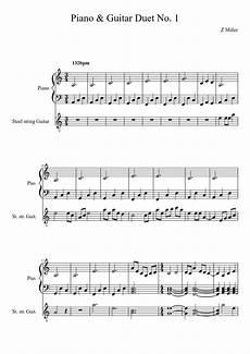 piano guitar duet no 1 sheet music download free in pdf