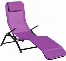 chaise longue pliante gifi transat jardin 43 id 233 es pour un bain de soleil 231 a vous