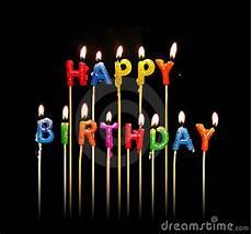 candele buon compleanno candele di buon compleanno fotografia stock immagine 675770