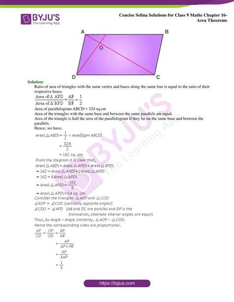 Important Math Theorems