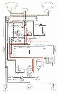 ignition and charging system diagram baja bugs pinterest cars automobile and engine repair