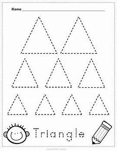 shape tracing worksheets by sweetie s teachers pay teachers