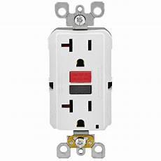 Leviton 20 125 Volt Duplex Self Test Gfci Outlet