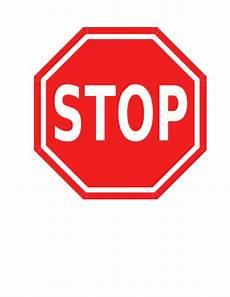 Stop Sign Behavior Management Technique Classroom Freebies