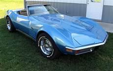 exle of bryar blue paint a 1972 gm corvette corvette corvette summer chevrolet corvette