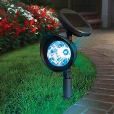 lytworx 27cm led colour changing solar spotlight bunnings warehouse