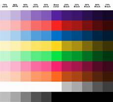 color chart for plasti dip plasti dipped cars community color mixing chart color