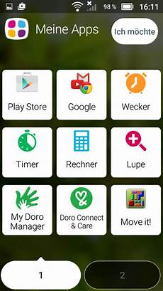 Test Doro 8031 Smartphone Notebookcheck Tests