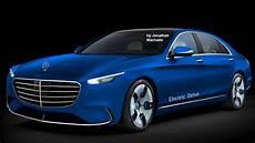 render 2018 mercedes s class ev electric vehicle