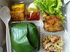 Nasi Timbel Nasi Box Lunch Box Lucky Catering