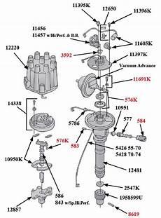 1962 74 Tach Drive Distributor Restoration Paragon