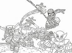 squad coloring pages