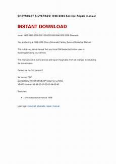 how to download repair manuals 2001 chevrolet silverado 3500 free book repair manuals chevrolet silverado 1998 2006 service repair manual