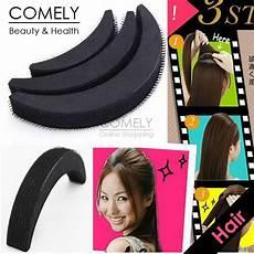 how to use bump it hair accessory 3pcs volume increase velcro foam pad hair bump base diy