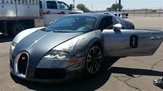 Buggati Veyron Crash by Ouch Bugatti Veyron Crash In Arizona During Track Drive